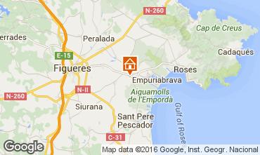 Karte Empuriabrava Villa 96026