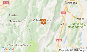 Karte Villard de Lans - Corrençon en Vercors Studio 74588