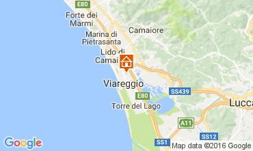 Karte Viareggio Appartement 106416