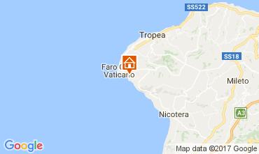 Karte Capo Vaticano Appartement 24768