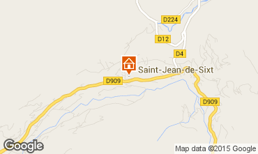 Karte La Clusaz Chalet 66735