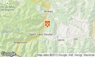 Karte Saint Lary Soulan Ferienunterkunft auf dem Land 80216