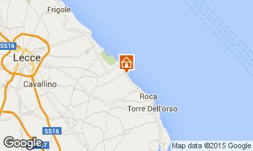 Karte San Foca Villa 85195