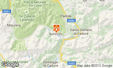 Karte Auronzo di Cadore Appartement 95424