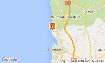 Karte Le Touquet Villa 74740