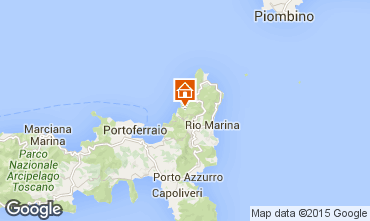 Karte Rio nell'Elba Appartement 77662