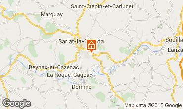 Karte Sarlat Appartement 89481