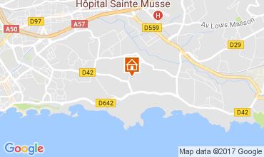 Karte Toulon Villa 110245