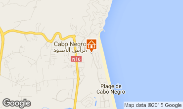 Karte Cabo Negro Appartement 78772