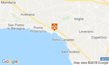 Karte Porto Cesareo Appartement 111282