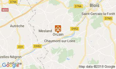 Karte Onzain Mobil-Home 113114