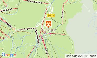 Karte Les Arcs Studio 209