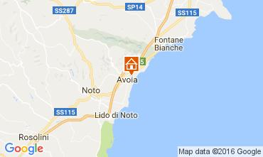 Karte Avola Villa 75699