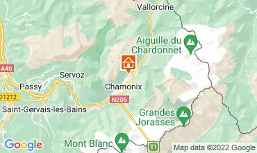 Karte Chamonix Mont-Blanc Chalet 88059