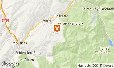 Karte La Plagne Appartement 59584