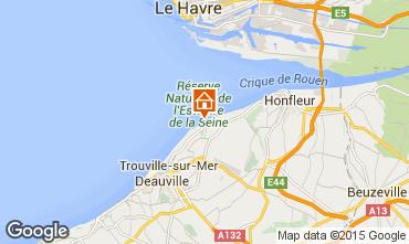 Karte Deauville Appartement 67305