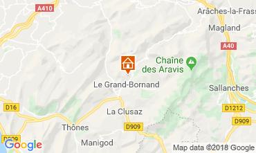 Karte Le Grand Bornand Chalet 116902