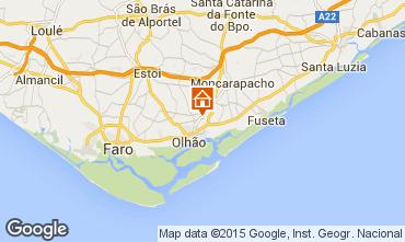 Karte Olhão Appartement 21809