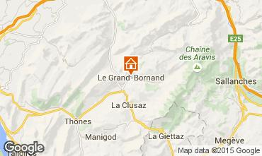Karte Le Grand Bornand Studio 42969