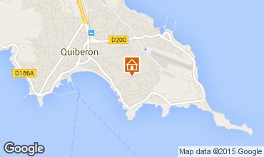 Karte Quiberon Appartement 64314