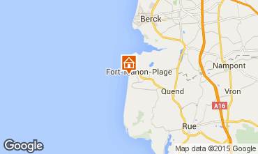 Karte Fort Mahon Studio 67525