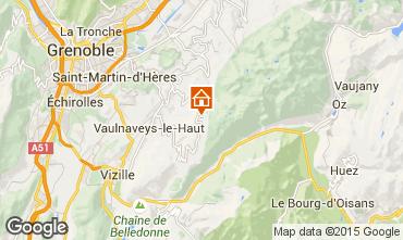 Karte Chamrousse Chalet 88811