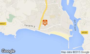 Karte Praia da Rocha Appartement 84924