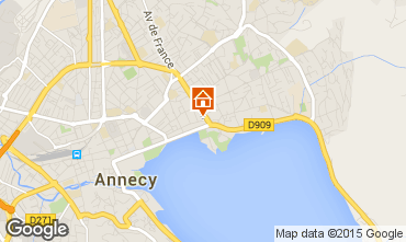 Karte Annecy Appartement 94359