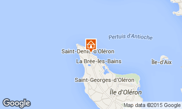 Karte Saint Denis d'Oléron Villa 80154