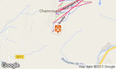 Karte Chamrousse Appartement 29263