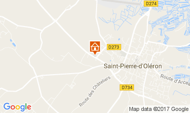 Karte Saint Pierre d'Oléron Haus 108163