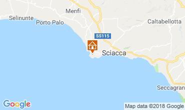 Karte Sciacca Appartement 111247