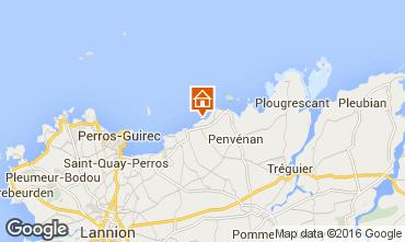 Karte Perros-Guirec Haus 96940