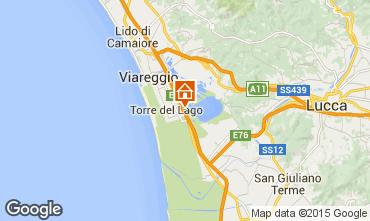 Karte Viareggio Appartement 87984