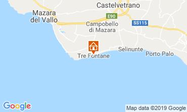Karte Mazara del Vallo Villa 105374