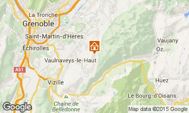 Karte Chamrousse Appartement 35627