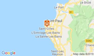 Karte Saint Gilles Ferienunterkunft auf dem Land 110815