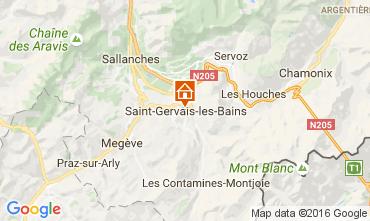 Karte Saint-Gervais-les-Bains Appartement 82224