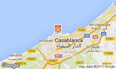 Karte Casablanca Appartement 74338