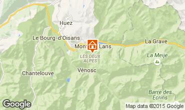 Karte Les 2 Alpes Appartement 40126