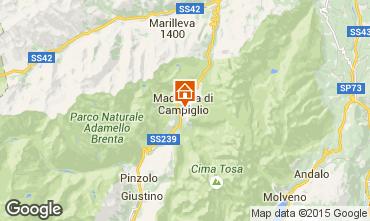 Karte Madonna di Campiglio Appartement 67442