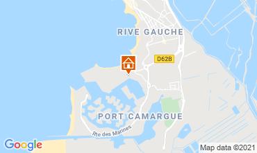 Karte Port Camargue Appartement 40807