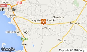Karte La Rochelle Haus 102517