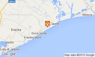 Karte Caorle Appartement 76865