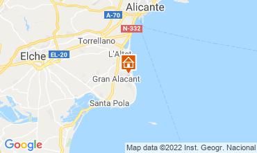Karte Santa Pola Appartement 82118