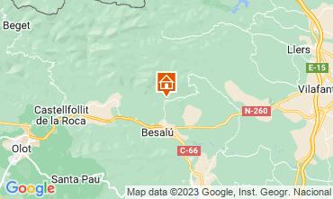 Karte Figueres Ferienunterkunft auf dem Land 87906