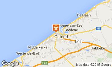 Karte Ostende Appartement 101727