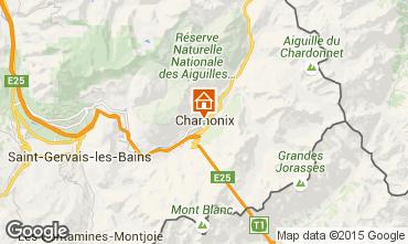 Karte Chamonix Mont-Blanc Studio 667