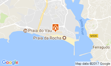 Karte Praia da Rocha Appartement 96534