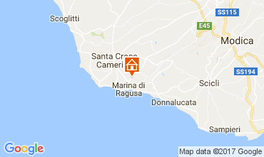 Karte Marina di Ragusa Appartement 110007